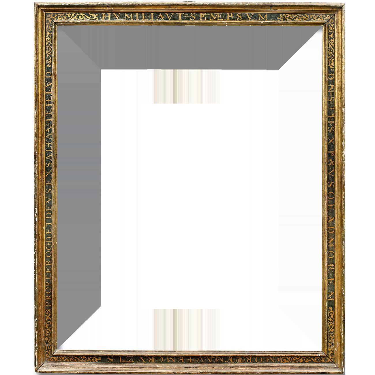 Beschrifteter Rahmen