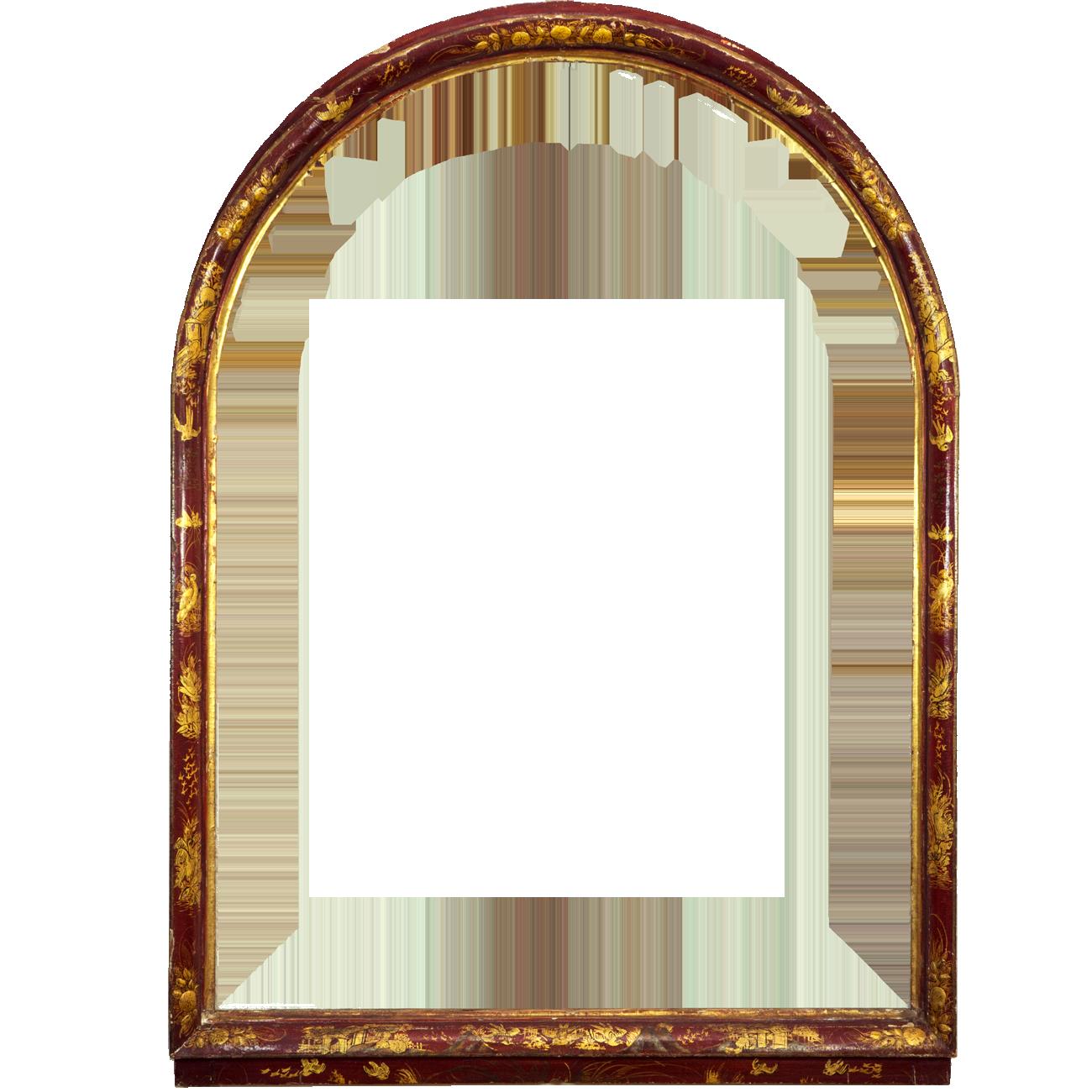 Chinoiser Lackrahmen - Antike Rahmen