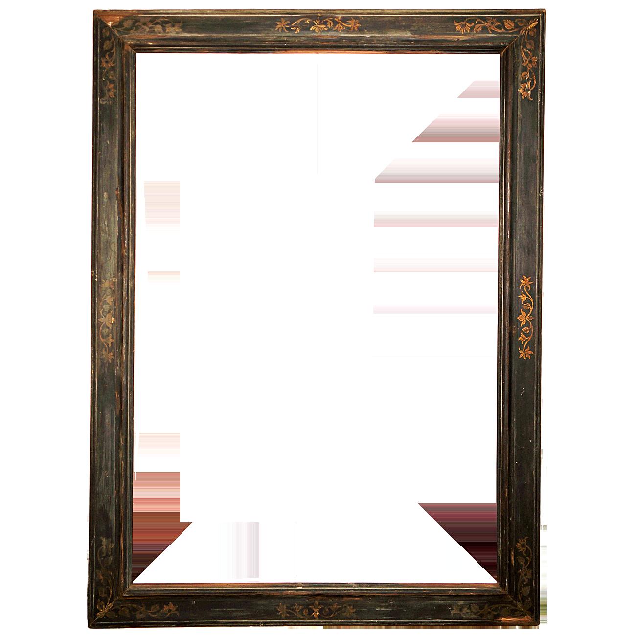 black baroque frame antike rahmen. Black Bedroom Furniture Sets. Home Design Ideas