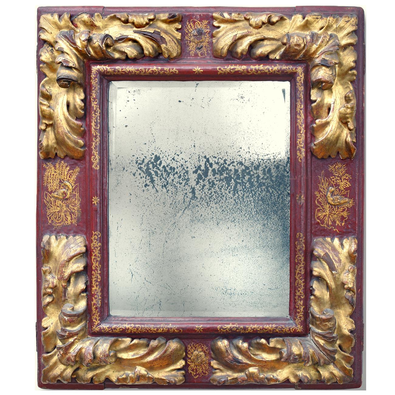 Chinoiser Spiegelrahmen - Antike Rahmen