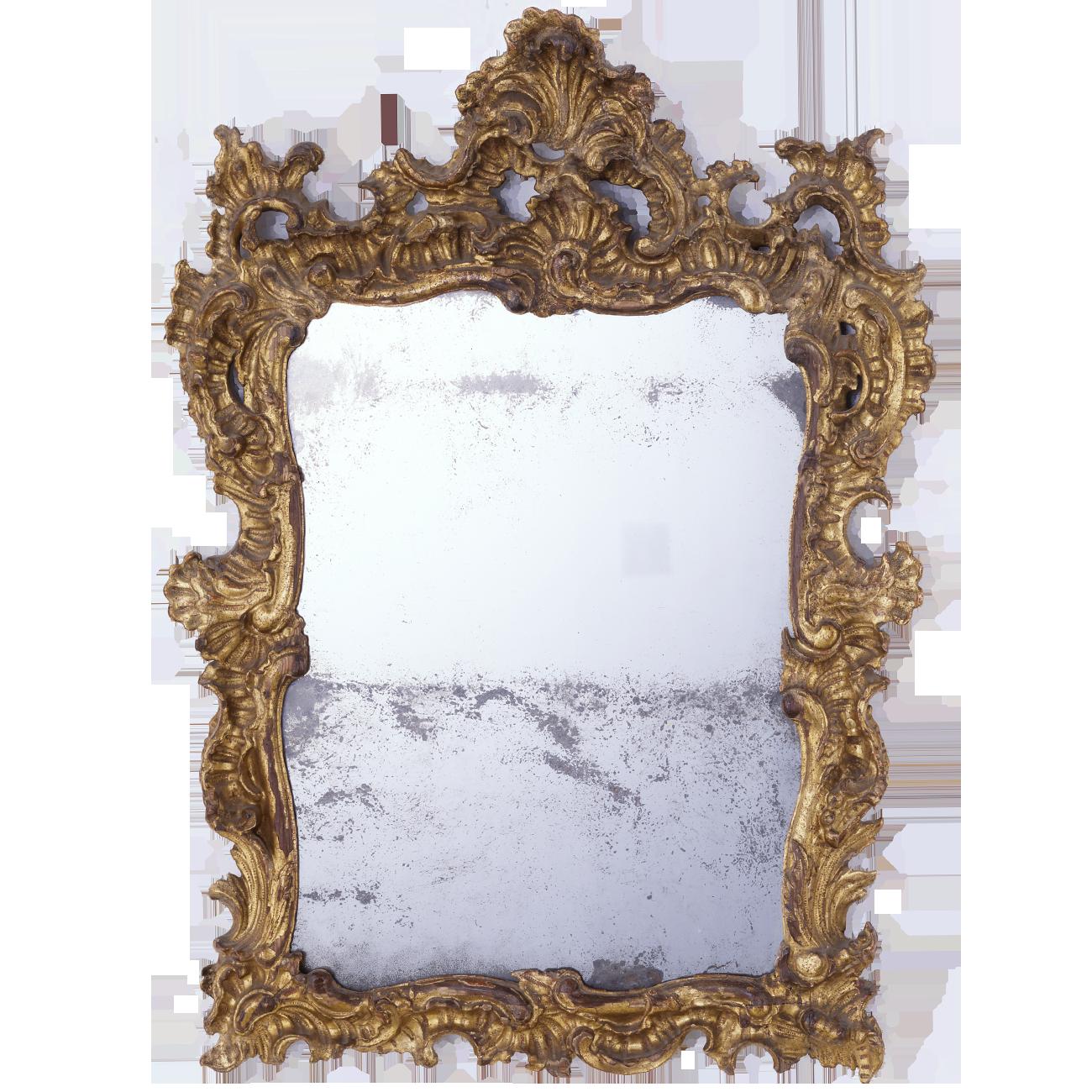 Rokoko Spiegelrahmen - Antike Rahmen