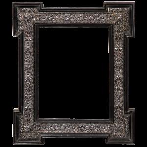 Renaissance Rahmen mit Silberfrieß