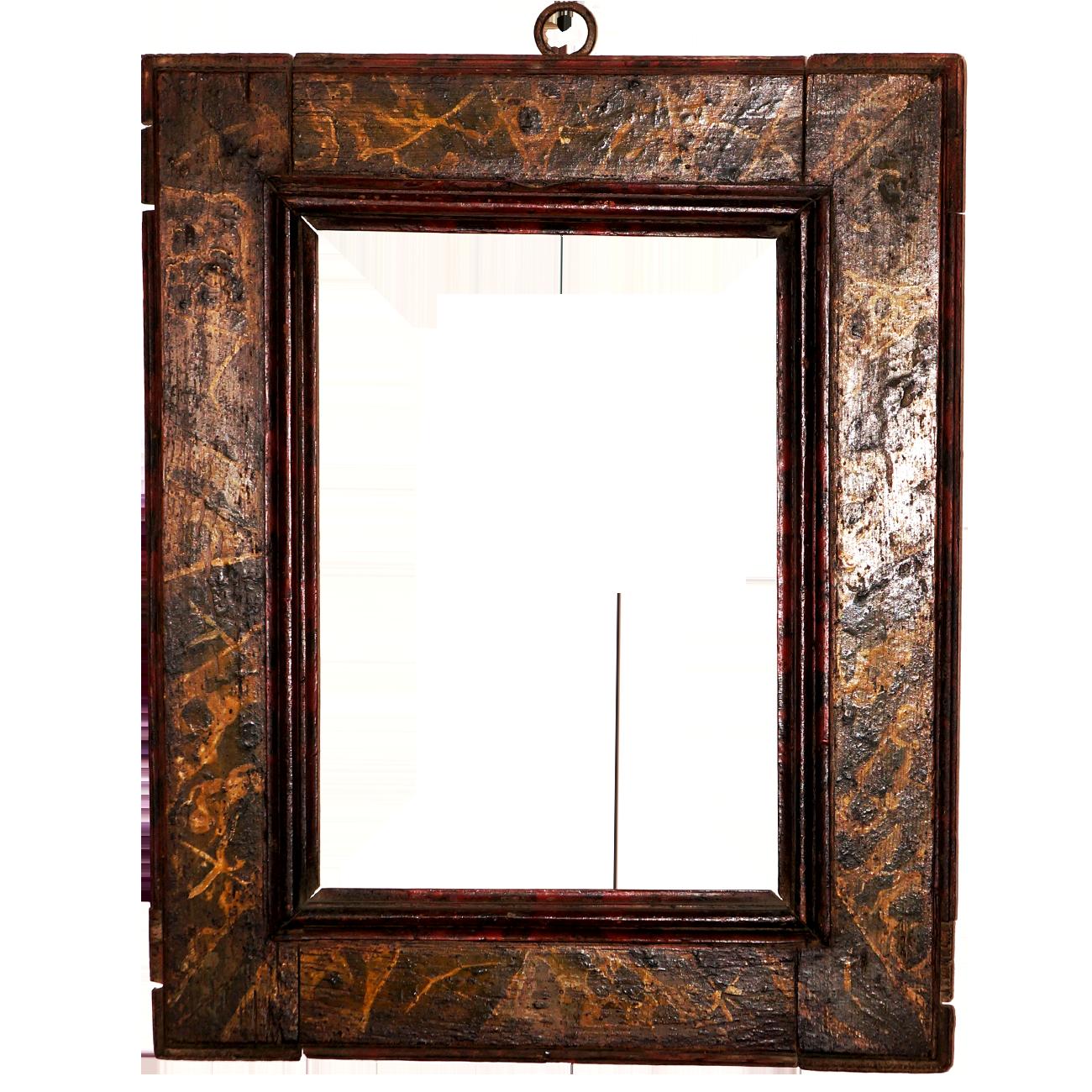 Marbled Baroque Frame - Antike Rahmen