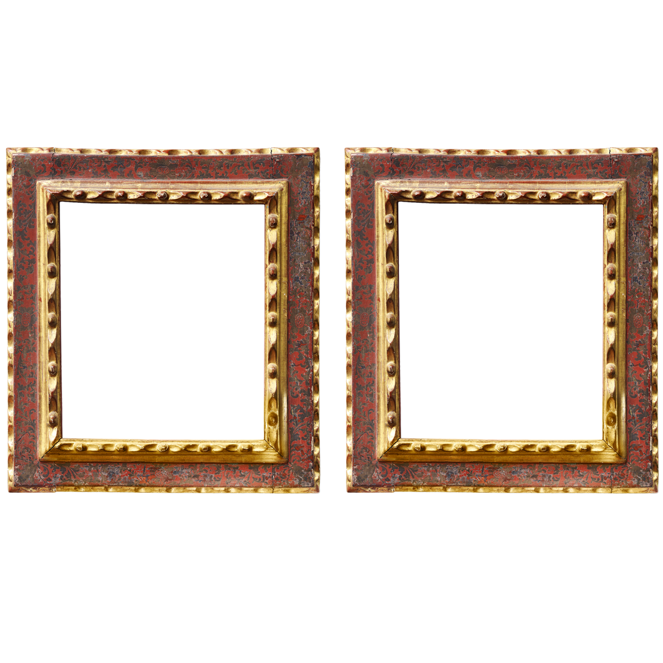 Barockrahmenpaar