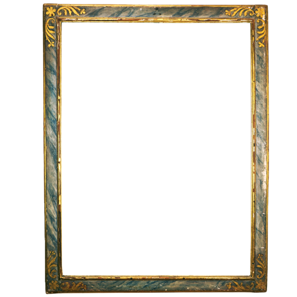Marmorierter Renaissance Rahmen