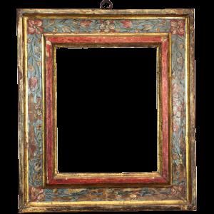 Bemalter Renaissance Rahmen