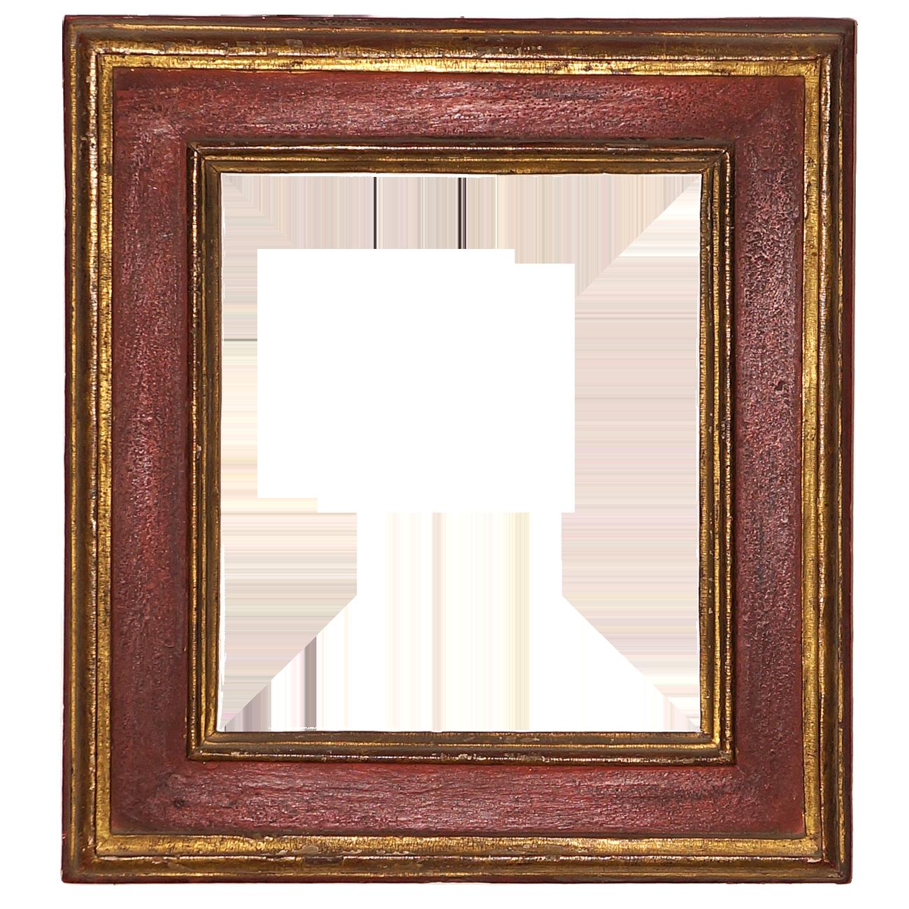 Roter Plattenrahmen - Antike Rahmen